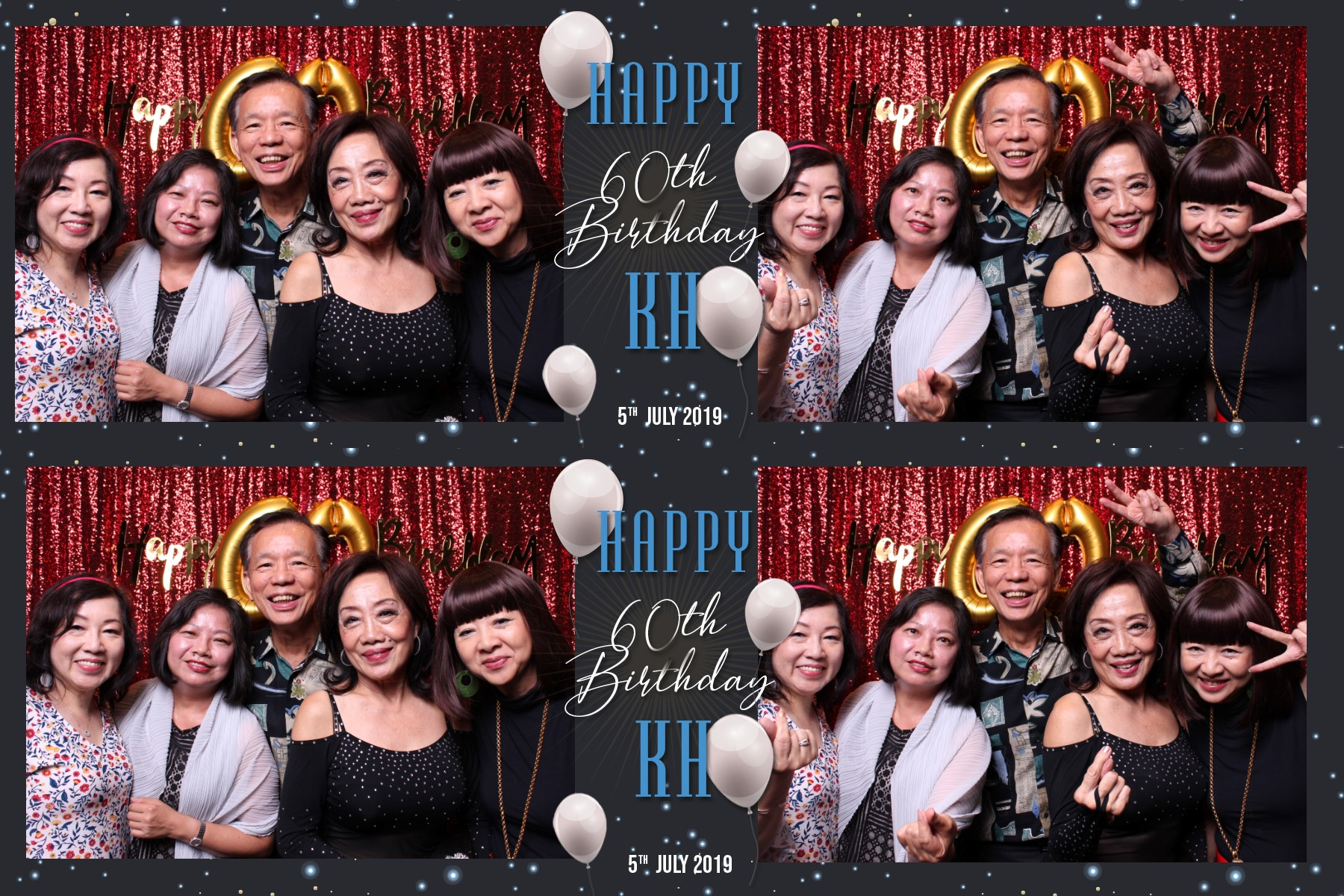 KH Birthday Party 2R Horizontal Copper Mansion PJ